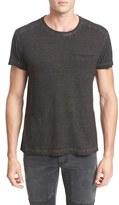 Belstaff Men's Crossfell Extra Trim Fit Stripe Jersey T-Shirt