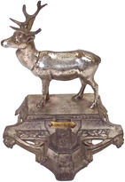 One Kings Lane Vintage Antique French Zoo Souvenir Buck Inkwell