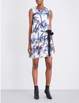 Emilio Pucci Bamboo-print silk-twill dress