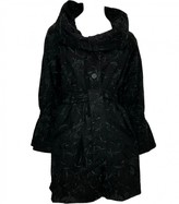 ALICE by Temperley Black Cotton Coat for Women
