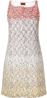 Missoni Pre-Owned Lace Effect Minidress