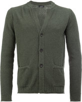 Roberto Collina v-neck cardigan - men - Cotton/Polyamide - 48