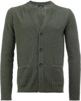 Roberto Collina v-neck cardigan - men - Cotton/Polyamide - 48