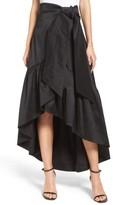 Eliza J Women's Faux Wrap Skirt