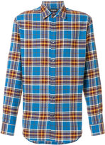 DSQUARED2 classic checked shirt - men - Cotton - 46