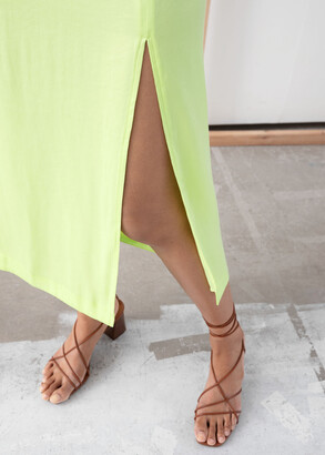 And other stories Side Slit Midi Skirt