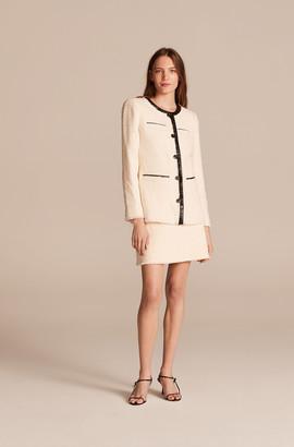 Rebecca Taylor Winter Tweed Short Skirt