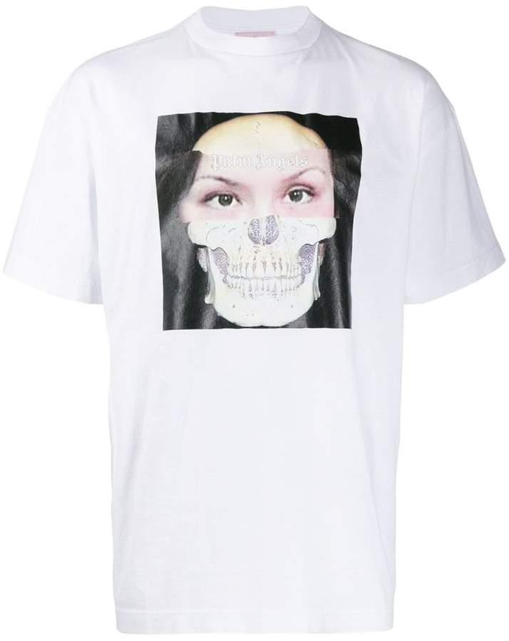 5ef1aff40c logo graphic print T-shirt