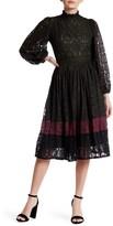 Raga Lexington Colorblocked Lace Dress