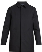 A.p.c. Preston Single-breasted Wool Overcoat