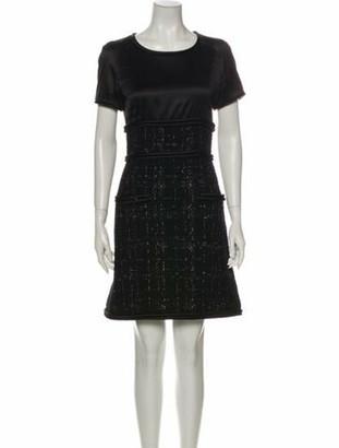 Chanel 2015 Mini Dress Black