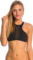 Rip Curl Swimwear Bomb Cutting Edge Hi Neck Bikini Top 8147901