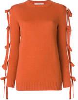 Blugirl Maglia tie sleeve sweater