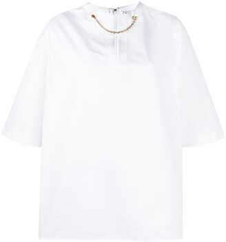 Givenchy Short Sleeve Cotton Shirt
