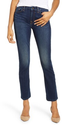 JEN7 by 7 For All Mankind Ankle Straight Leg Jeans