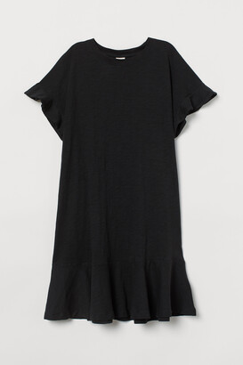 H&M Slub jersey T-shirt dress