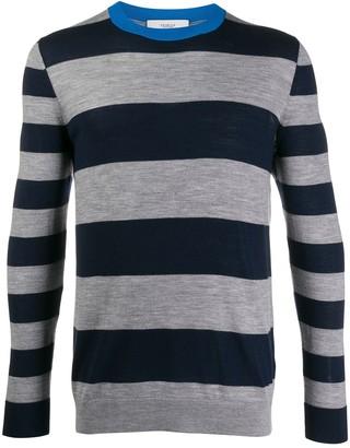 Pringle Rugby-striped merino wool jumper