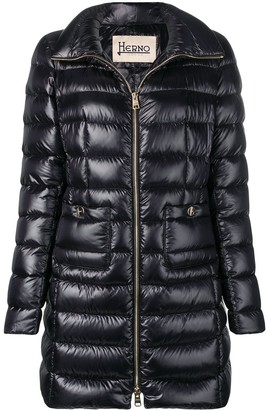 Herno Mid-Length Puffer Jacket