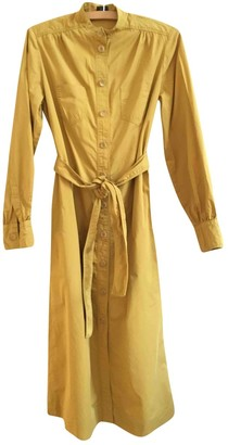 Joseph Yellow Cotton Dress for Women