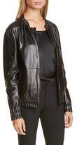 Lafayette 148 New York Rylan Leather Jacket
