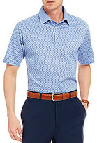 Daniel Cremieux Signature Mercerized Printed Short-Sleeve Polo Shirt