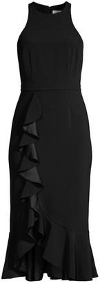 LIKELY Tay Flounce Midi Dress
