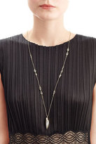Alexis Bittar Crystal Encrusted Pendant Necklace