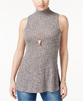 American Rag Sleeveless Mock-Neck Top, Only at Macy's
