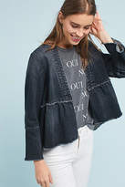 Amo Flounced Denim Jacket