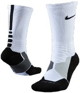 Nike Hyperelite Basketball Crew Dri-Fit Men Socks Black/White SX4801-007 (SIZE: M)