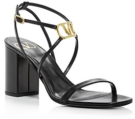 Valentino Women's High Block Heel Sandals