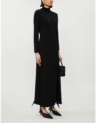 Rixo Antonia detachable embellished-chain knitted maxi dress
