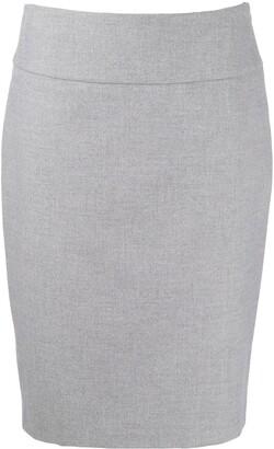Peserico Pencil Midi Skirt
