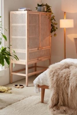 Urban Outfitters Marte Storage Cabinet - Tan ALL at