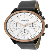 Simplify Unisex Gray Strap Watch-Sim3805