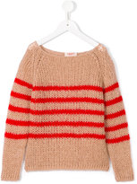 Maan - striped jumper - kids - Acrylic - 6 yrs