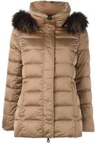 Hetregó hood detail puffer jacket