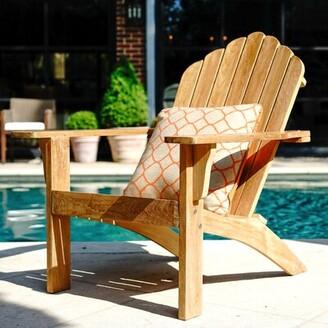 Adirondack Coyne Teak Chair Millwood Pines Color: Brown