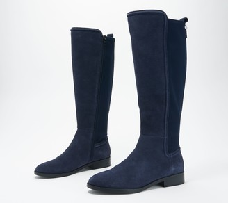 Marc Fisher Leather or Suede Tall-Shaft Boots - Shiane