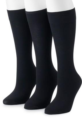 Gold Toe Women's GOLDTOE 3-Pack Trouser Socks