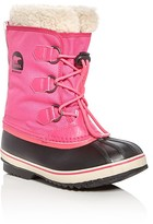 Sorel Girls' Yoot Pac Nylon Cold Weather Boots - Little Kid, Big Kid