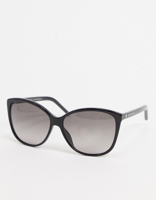 Marc Jacobs round sunglasses in black