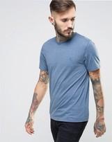 Original Penguin Small Logo T-Shirt Slim Fit in Blue Marl
