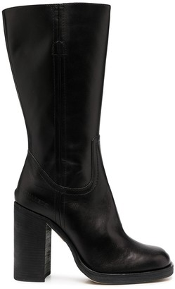 DSQUARED2 Rounded-Toe Boots