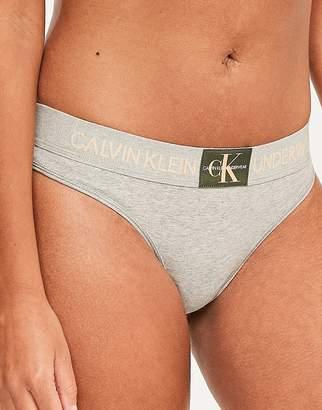 Calvin Klein Monogram Thong