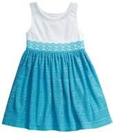 Youngland Toddler Girl Crochet Textured Dress