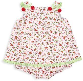 Florence Eiseman Baby Girl's Cherry Pique Romper