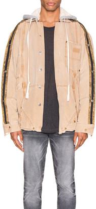 Greg Lauren Canvas Royal Work Jacket in Brown | FWRD
