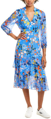 Shoshanna Mireya Midi Dress