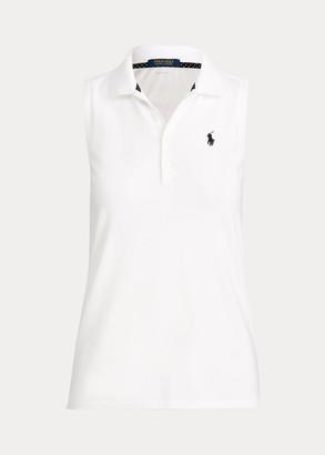 Ralph Lauren Pique Sleeveless Golf Polo